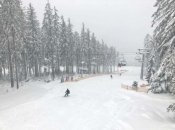 Ski resort Lipno has opened all slopes