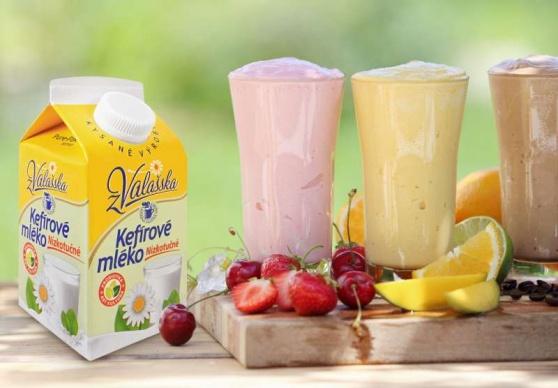 Horké léto osvěží nápoje a zmrzliny z Mlékárny Valašské Meziříčí