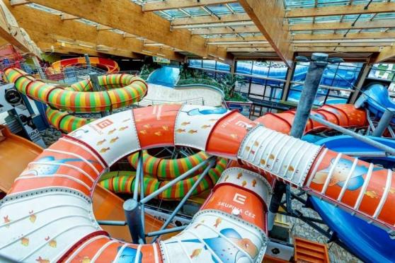 Aquapalace Praha je znovu v provozu. Můžete si užít předvánoční čas v nejzábavnějším aquaparku ve střední Evropě
