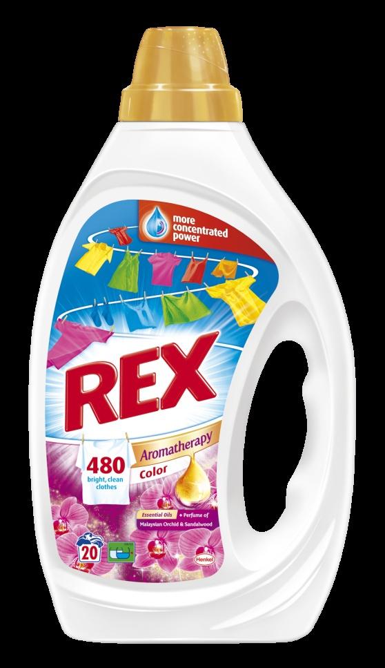 Inspirace fantastickými vůněmi pracích prostředků Rex