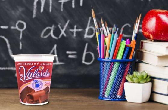 Mlékárna Valašské Meziříčí, výrobce kvalitních mléčných výrobků, přináší tipy na zdravé svačinky nejen pro školáky, ale také pro dospělé