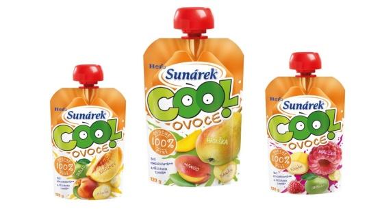 Sunárek Cool ovoce – ovocný mix pro vaše děti